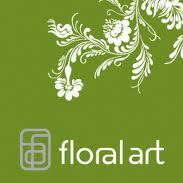 LA Silver Floral Art